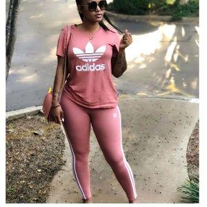 Degenerar audiencia reinado  adidas leggings and shirt set Shop Clothing & Shoes Online